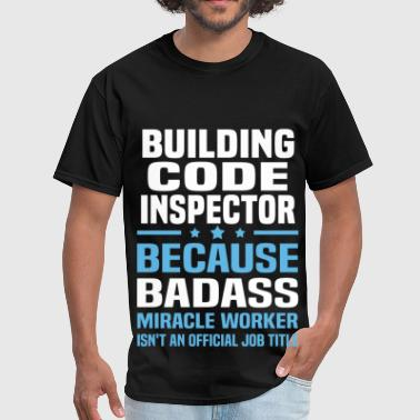 Building Code Inspector - Men's T-Shirt
