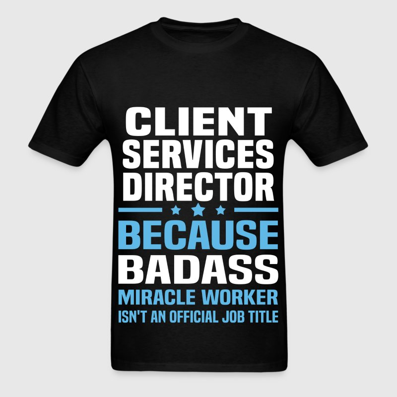 Client Services Director - Men's T-Shirt