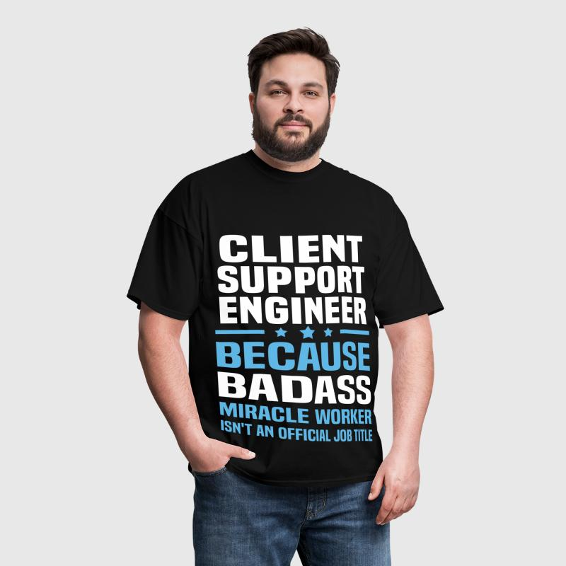 Client Support Engineer - Men's T-Shirt
