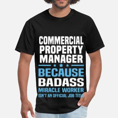 Property Management Badass Commercial Property Manager - Men's T-Shirt