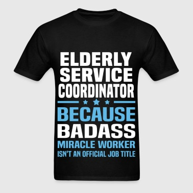 Elderly Service Coordinator - Men's T-Shirt