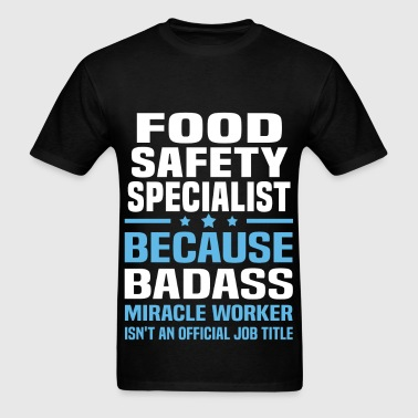 Food Safety Specialist - Men's T-Shirt