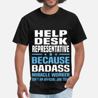 Desk Help Desk Representative - Men's T-Shirt
