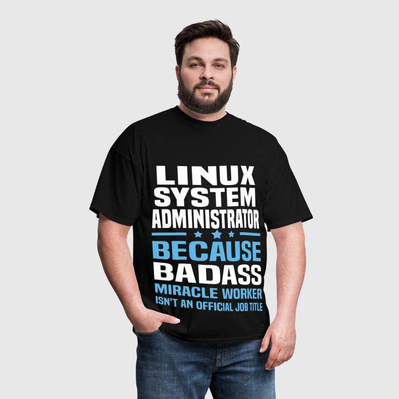 Linux System Administrator - Men's T-Shirt