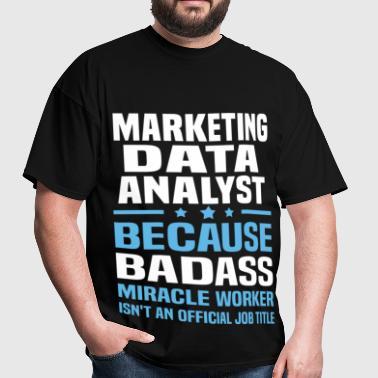 Marketing Data Analyst - Men's T-Shirt