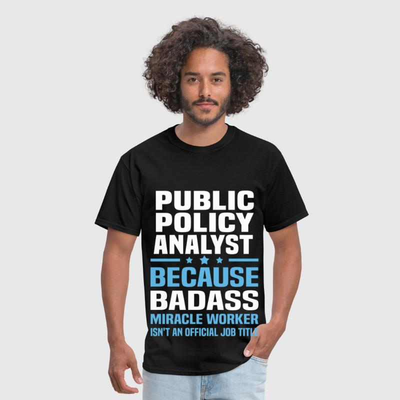 Public Policy Analyst - Men's T-Shirt