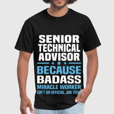 Advisor Funny Senior Technical Advisor - Men's T-Shirt