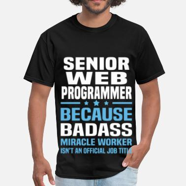 Programmer Mugs & Senior Web Programmer - Men's T-Shirt