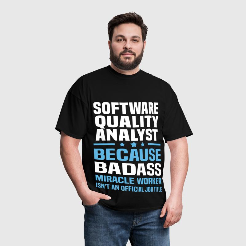 Software Quality Analyst - Men's T-Shirt