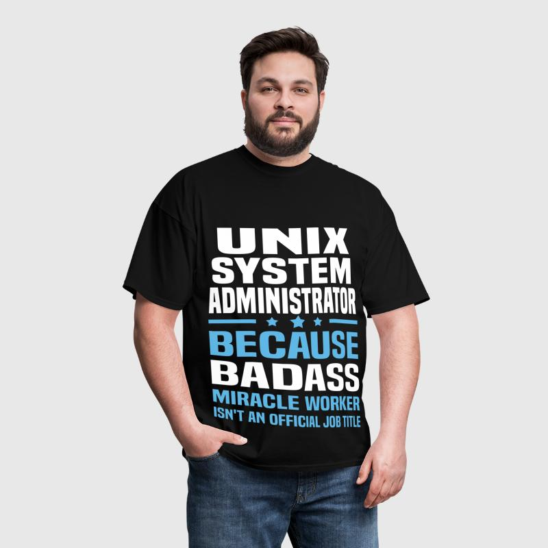UNIX System Administrator - Men's T-Shirt