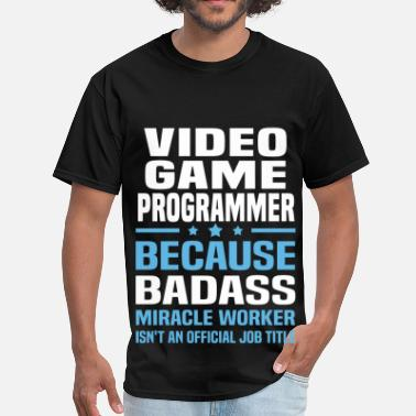 Programmer Mugs & Video Game Programmer - Men's T-Shirt