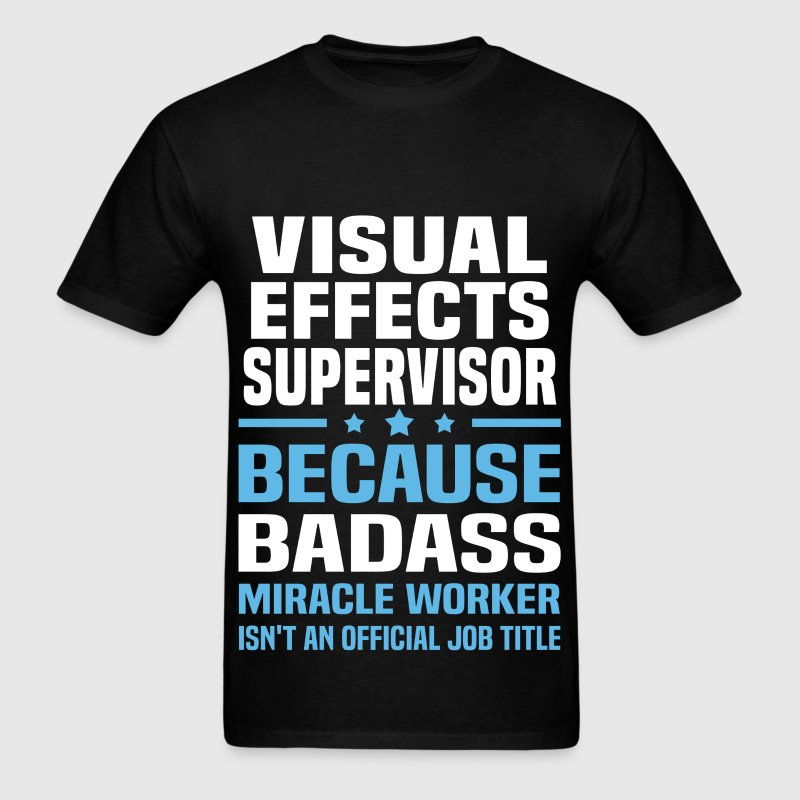 Visual Effects Supervisor - Men's T-Shirt
