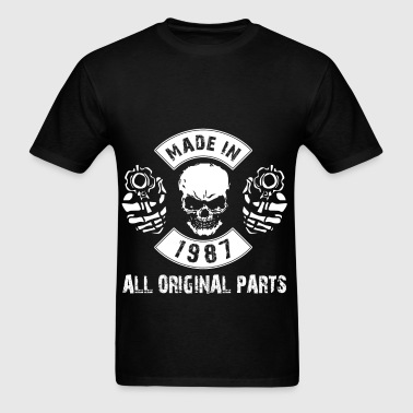 Made in 1987 All original parts - Men's T-Shirt