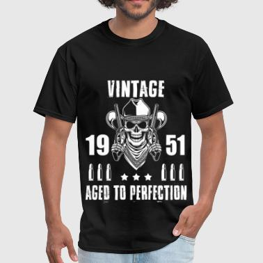 Vintage 1951 Aged To Perfection Vintage 1951 Aged to perfection - Men's T-Shirt
