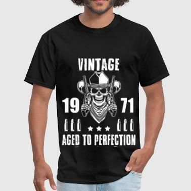 1971 Aged To Perfection Vintage 1971 Aged to perfection - Men's T-Shirt