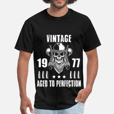 Vintage 1977 Aged To Perfection Vintage 1977 Aged to perfection - Men's T-Shirt