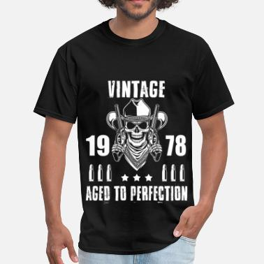 Aged To Perfection 1978 Birthday Vintage 1978 Aged to perfection - Men's T-Shirt