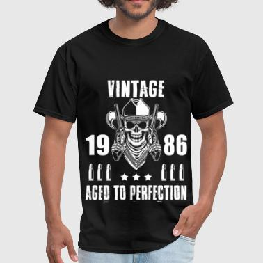 1986 Aged To Perfection Vintage 1986 Aged to perfection - Men's T-Shirt
