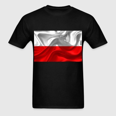 Poland flag - Men's T-Shirt