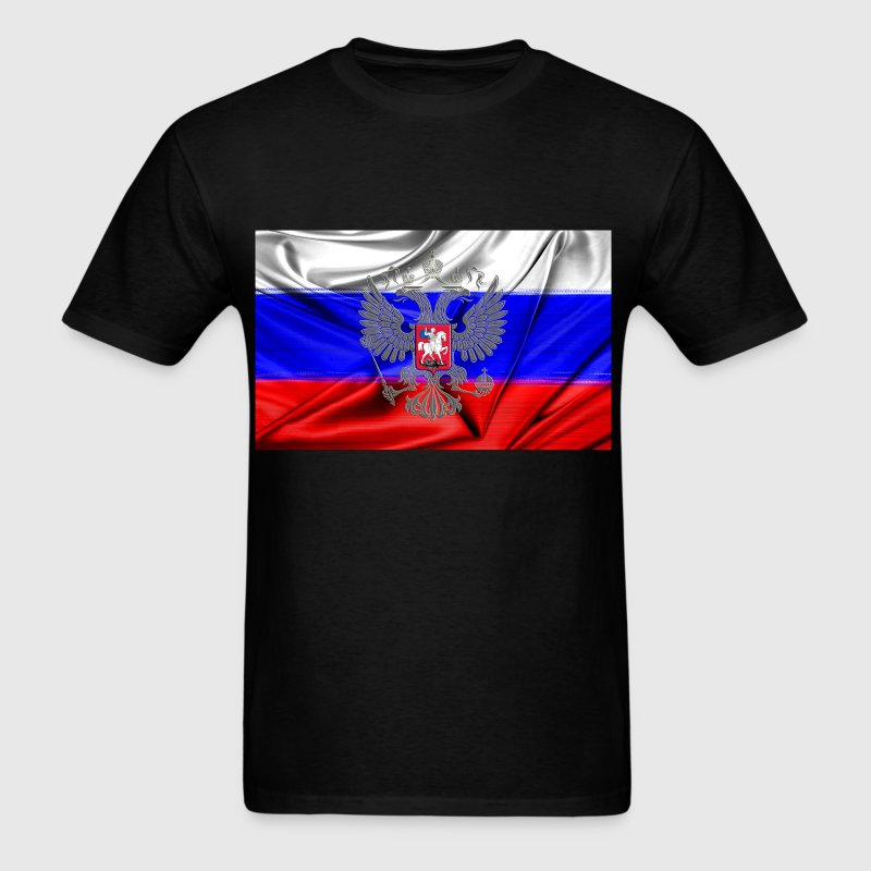 Russian flag - Men's T-Shirt