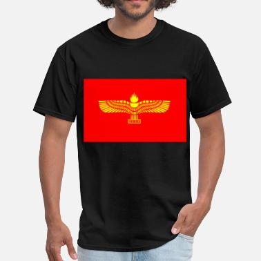 Aramaic The Aramaic flag - Men's T-Shirt