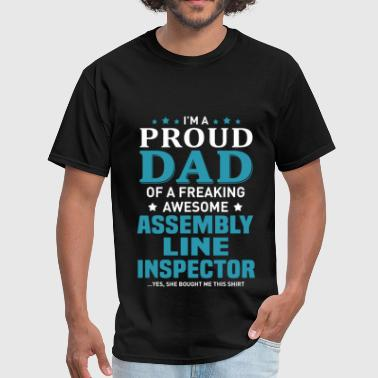 Assembly Line Inspector - Men's T-Shirt