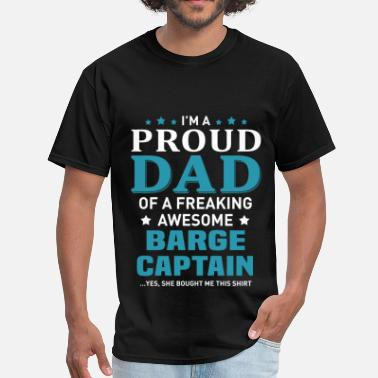 Barge Barge Captain - Men's T-Shirt