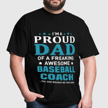 Baseball Coach - Men's T-Shirt