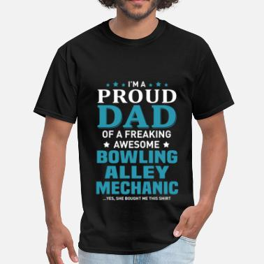 Bowling Alley Bowling Alley Mechanic - Men's T-Shirt