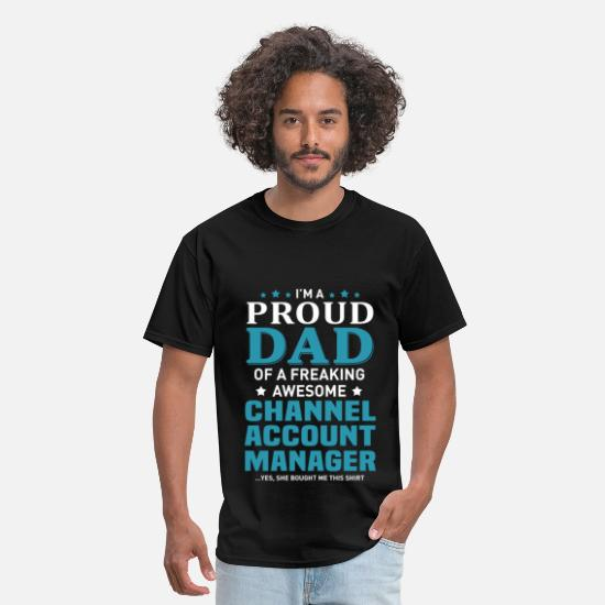 Big Daddy T-Shirts - Channel Account Manager - Men's T-Shirt black