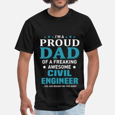 Awesome Civil Engineer Civil Engineer - Men's T-Shirt