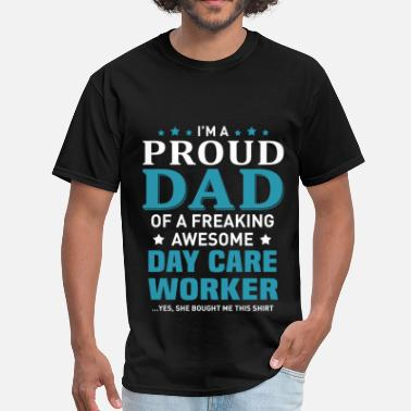 Dayfathers Day Day Care Worker - Men's T-Shirt
