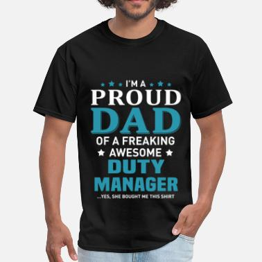 Duty Manager Duty Manager - Men's T-Shirt