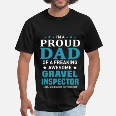 Gravel Gravel Inspector - Men's T-Shirt