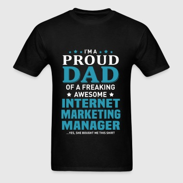 Internet Marketing Manager - Men's T-Shirt
