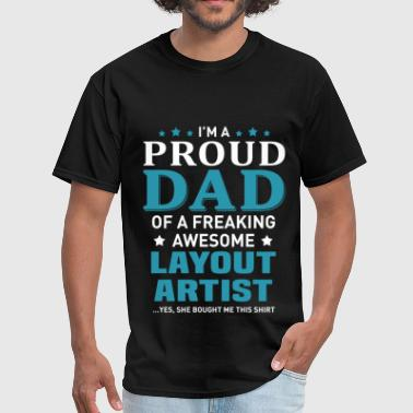 Layouts Layout Artist - Men's T-Shirt