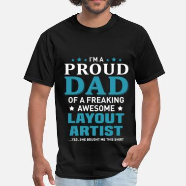 Layout Layout Artist - Men's T-Shirt