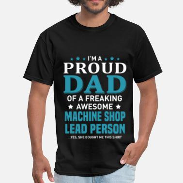 Lead Machine Shop Lead Person - Men's T-Shirt