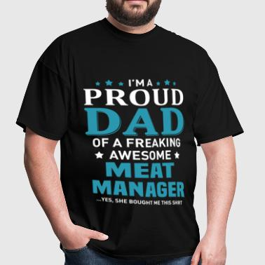 Meat Manager - Men's T-Shirt