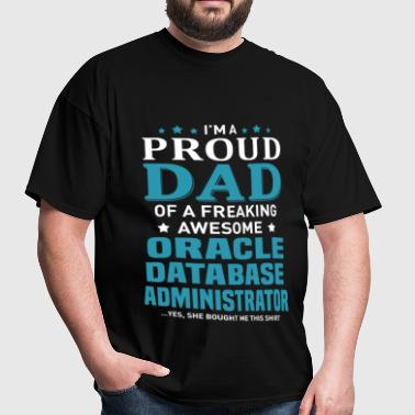 Oracle Database Administrator - Men's T-Shirt