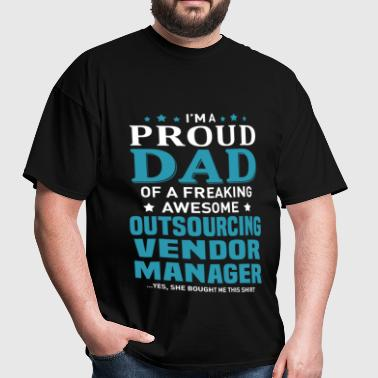 Outsourcing Vendor Manager - Men's T-Shirt
