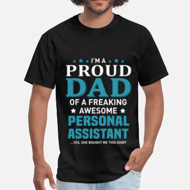 Personalized Papa Personal Assistant - Men's T-Shirt