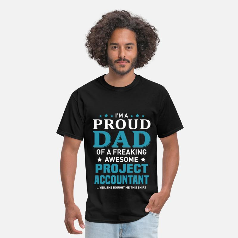 Big Daddy T-Shirts - Project Accountant - Men's T-Shirt black