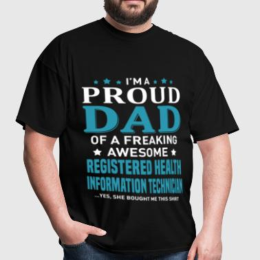 Registered Health Information Technician - Men's T-Shirt