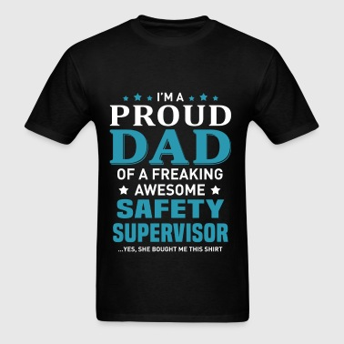 Safety Supervisor - Men's T-Shirt