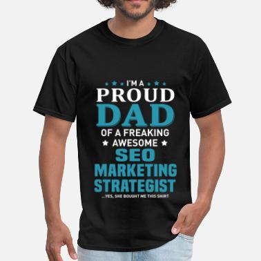 Marketing Seo SEO Marketing Strategist - Men's T-Shirt