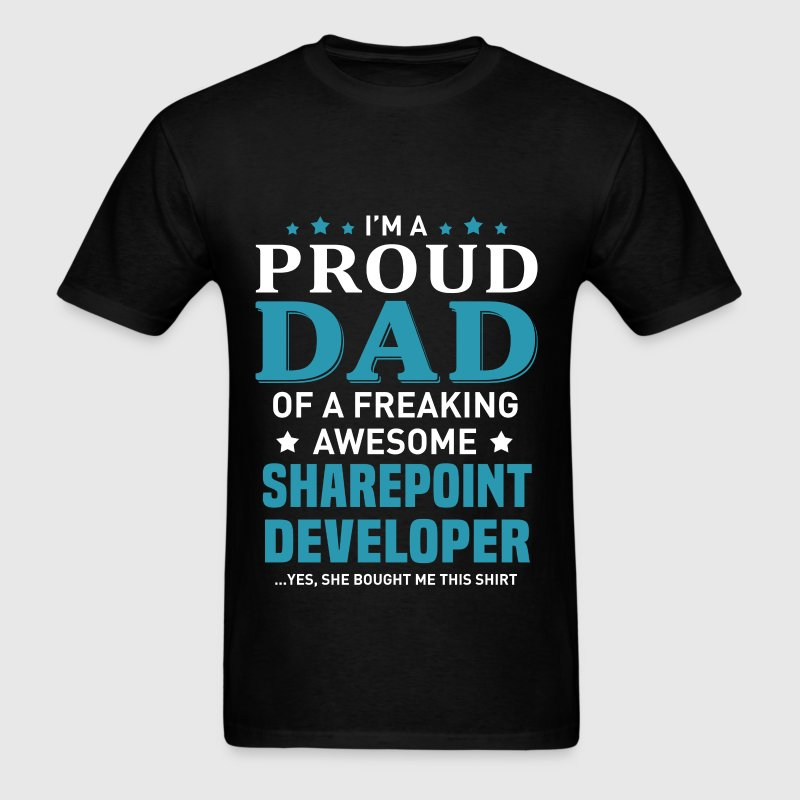 Sharepoint Developer - Men's T-Shirt