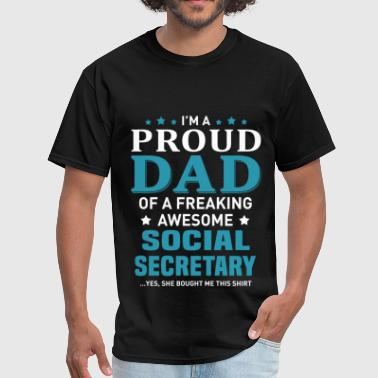 Social Secretary - Men's T-Shirt