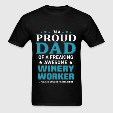Winery Worker - Men's T-Shirt