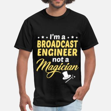 Broadcast Broadcast Engineer - Men's T-Shirt